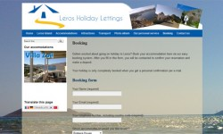 www.lerosholidaylettings.com